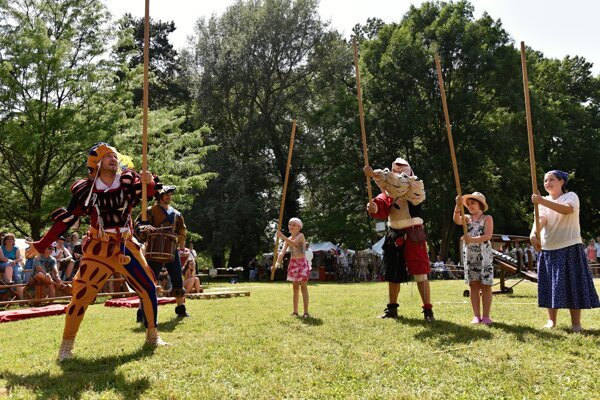 Medieval Days 2016 in Hlohovec