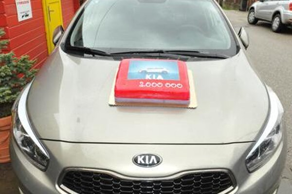 Two-millionth Kia vehicle produced in Slovakia.