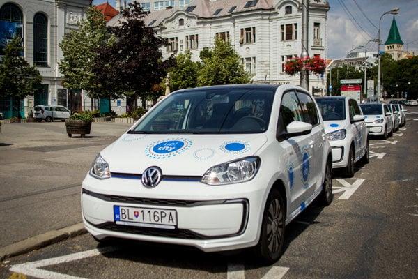 Car sharing in Bratislava