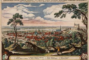 Pressburg in 1638