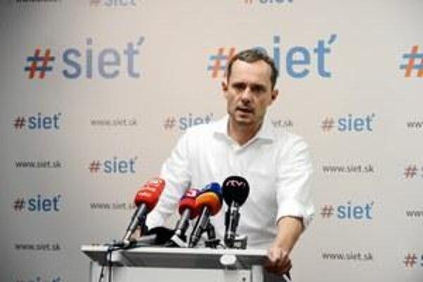 Sieť party leader Radoslav Procházka