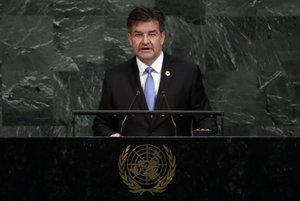 Slovak FAM Lajčák in the UN.
