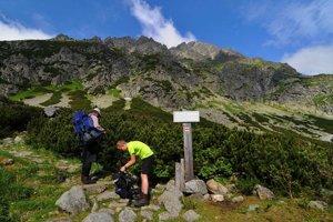 Hiking in the High Tatras.