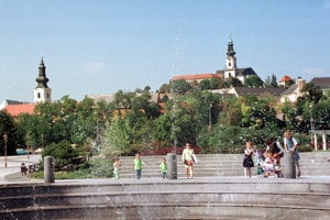 Centre of Nitra
