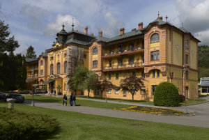 Asotria Hotel in the Bardejov Spa