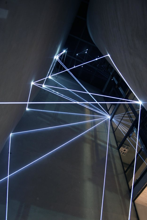 Carlo Bernardini, light installation