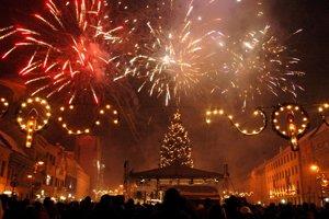 New Year's Eve in Košice