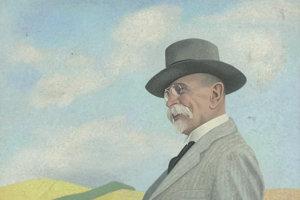 Ester Šimerová-Martinčeková: T. G. Masaryk (1946 – 1947). SNG, Bratislava (The Eights project)