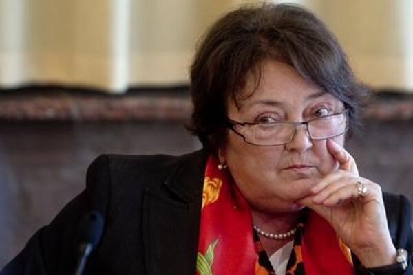 Statistics Office head Ľudmila Benkovičová