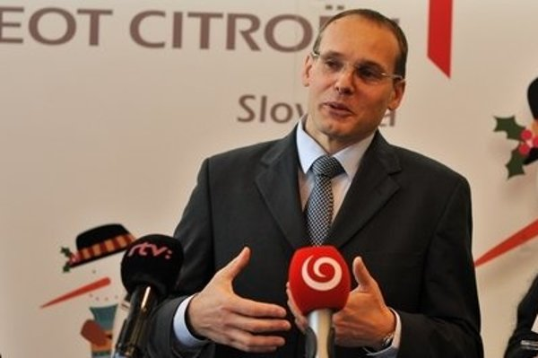Rémi Girardon, CEO of PSA Peugeot Citroën