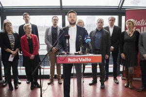 Matúš Vallo and his team announce the candidacy February 13.