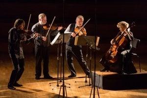 Brodsky Quartet play in Bratislava, 2016