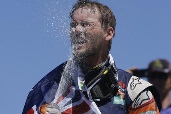 Štefan Svitko won second place in Rally Dakar.