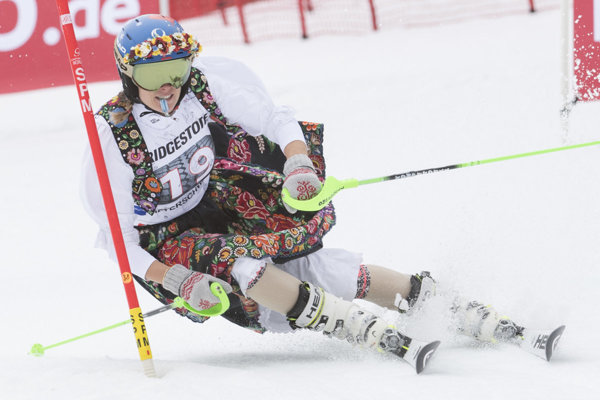 The last World Cup race of V. Velez-Zuzulová in her career.