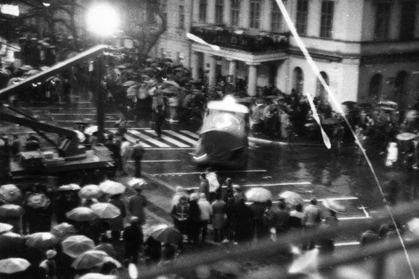 Candle Manifestation, Bratislava, March 1988