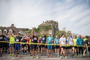 Starst of the Devín - Bratislava 2018 run.