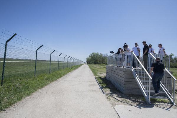 Bratislava M.R. Štefánik airport's lookout.