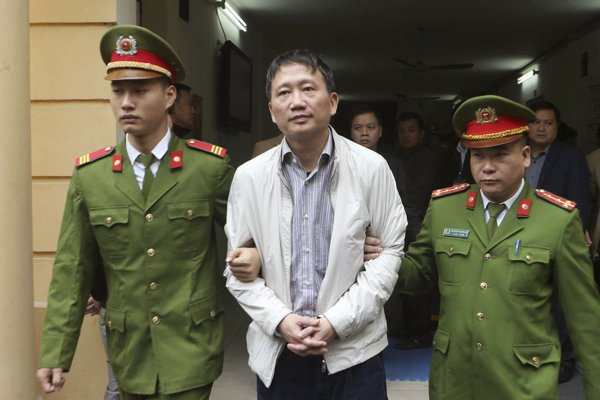 Trinh Xuan Thanh was sentenced to life in prison in Vietnam.