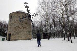 Wind-mill in Holíč.