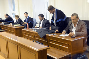 The court proceeding in BMG, Horizont case; Dávid Brtva 3R.