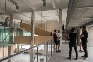 Mlynica opened its doors to lovers of architecture during recent Days of Architecture.