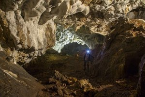 Pružinská Dúpna Jaskyňa cave