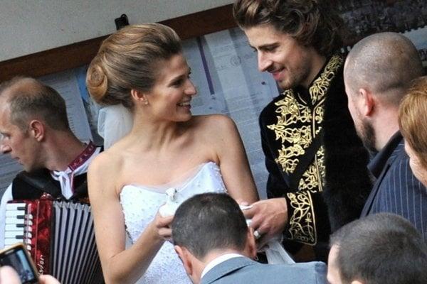 Peter Sagan marries Katarína, November 2015.