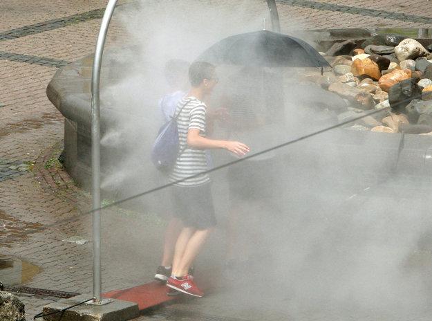 Heat in Banská Bystrica