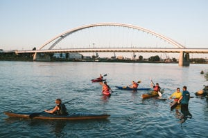 The Dunajčík canoe club has been running a kayak school for the third year.