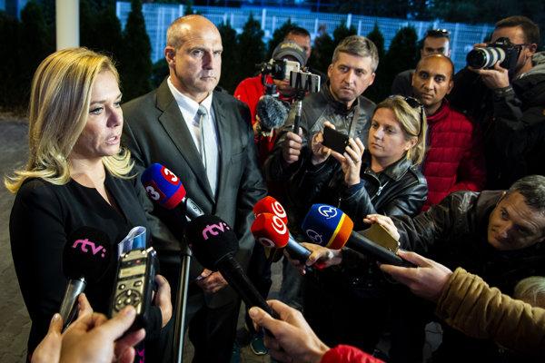 Interior Minister Denisa Saková after returning from Berlin.