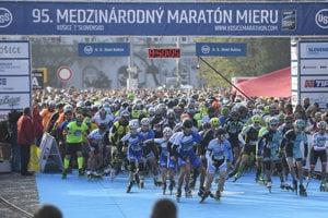 Inline skaters start at International Peace Marathon (MMM) Košice, 2018 edition, October 7.