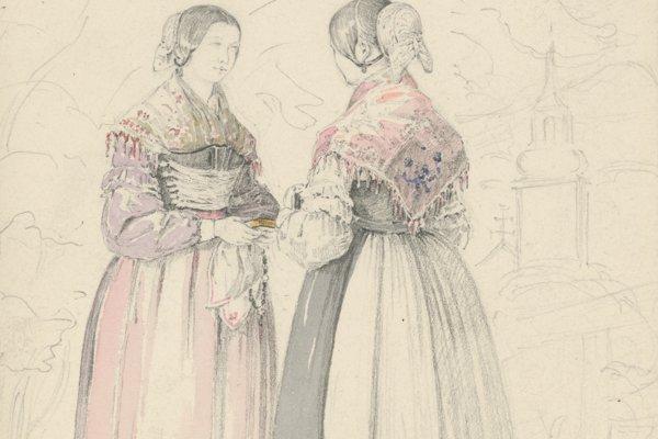 Karol Ľudovít Libay: Dve ženy (Two Women)