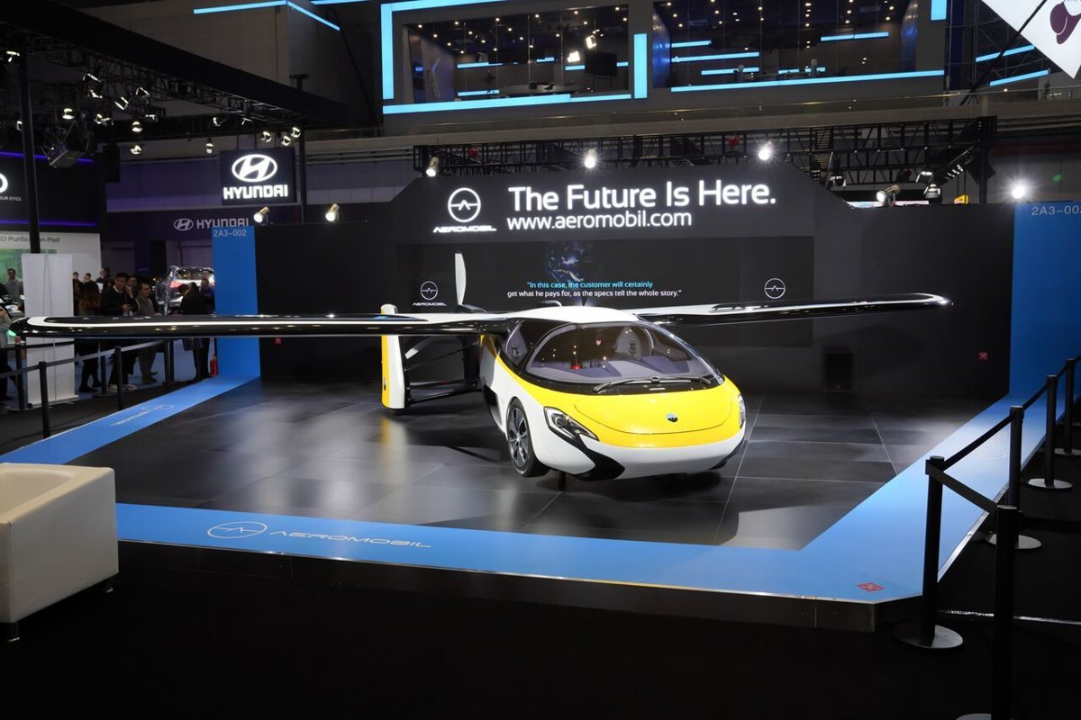 12499a9c5db Flying car impressed China - spectator.sme.sk