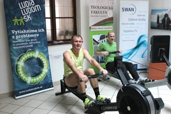 Rowing for Syria.
