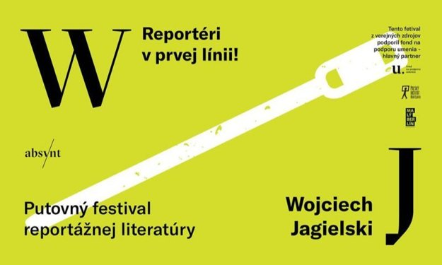 Polish journalist Wojciech Jagielski will present his book within the reportage literature festival in Slovakia.