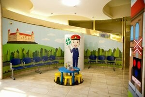 Lounge for families with children is open at Bratislava main station.