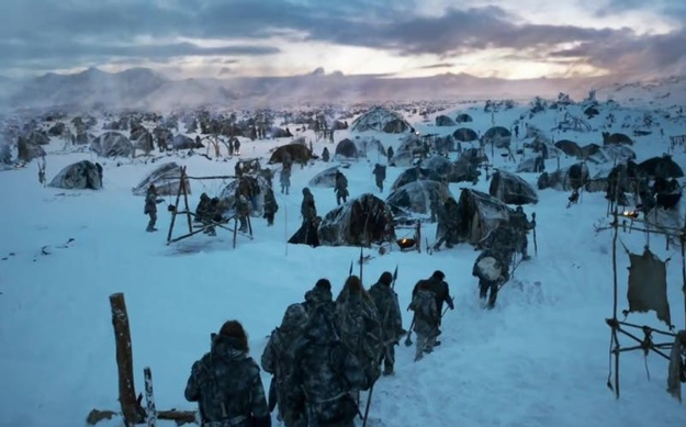 Wildling Army Camp