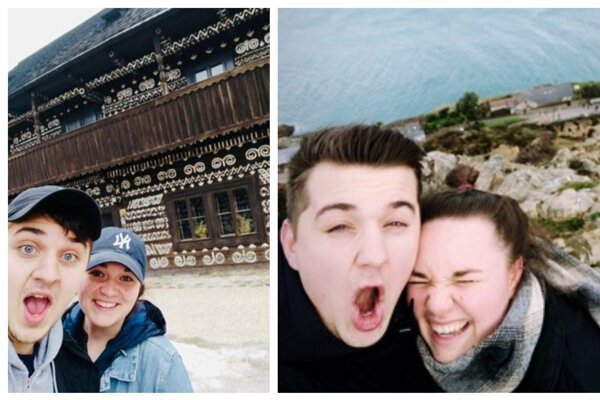 American Grace Sprockett and her Slovak boyfriend Miško on their trips in Slovakia and beyond.