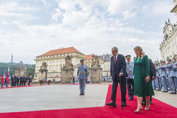 Slovak President Zuzana Čaputová visited the Czech Republic on June 20.