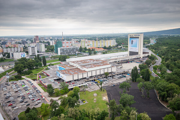 Incheba Expo Bratislava can hold events for up to 4,500 participants.