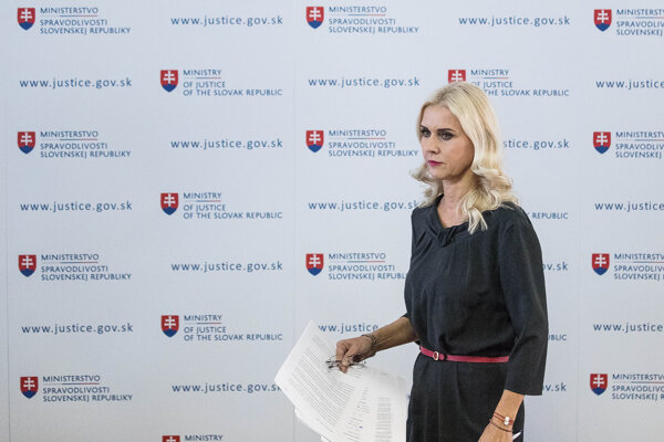 September 3, 2019: Jankovská arrives to the press conference to announce her resignation