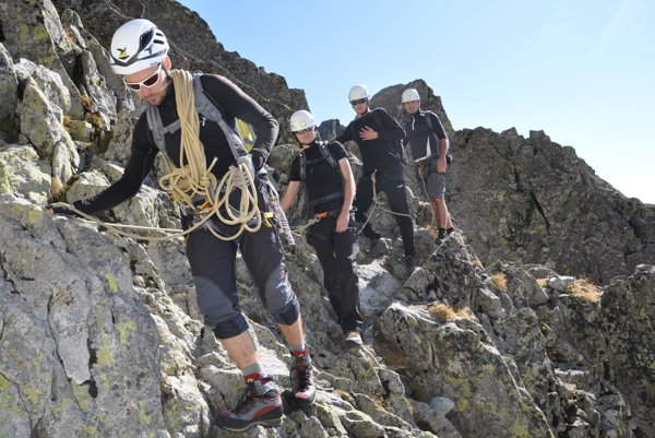 For climbing some of Slovakia's peaks a professional guide is required.