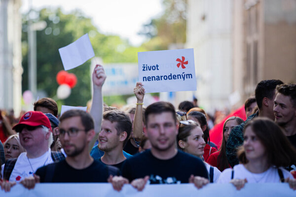 National March for Life Bratislava 2019
