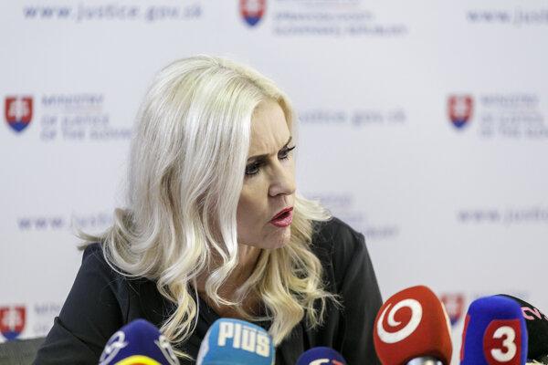 Former state secretary Monika Jankovská