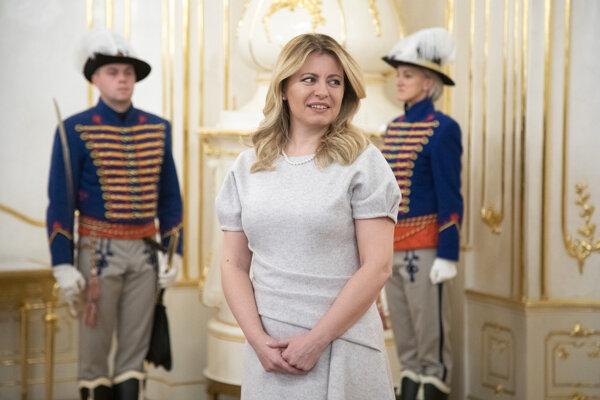 Slovak President Zuzana Čaputová