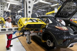 Kia begins producing its second PHEV model in the Žilina plant on March 4, 2020.