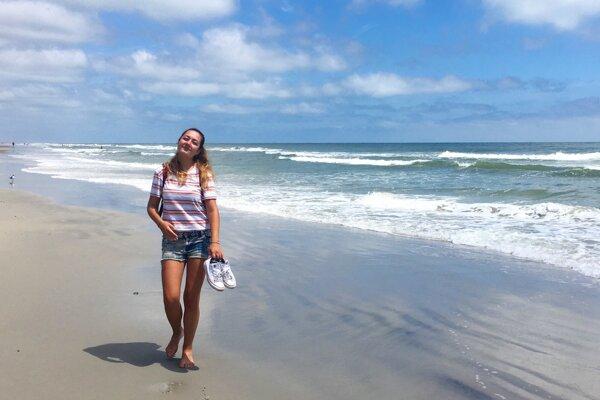 Slovak student Mária Šišková spent her summer 2019 by the ocean in North Carolina.