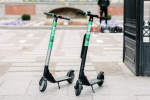 E-scooters by Bolt.