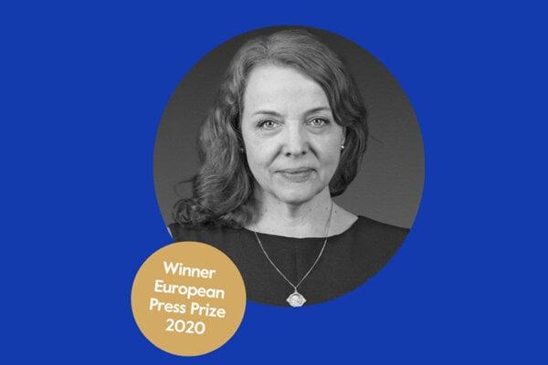 Beata Balogová, Winner European Press Prize 2020