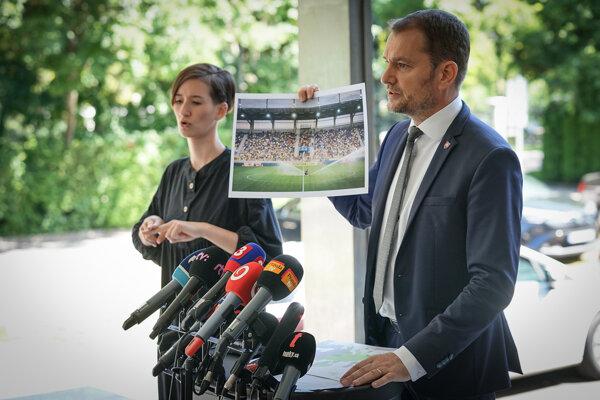 PM Igor Matovič (OĽaNO) criticised the football match in Dunajská Streda.